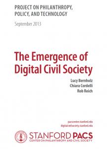 Emergence of Digital Civil Society