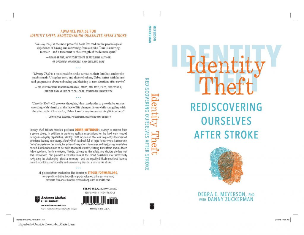 Book Launch – Identity Theft: Rediscovering Ourselves After Stroke - Stanford PACS